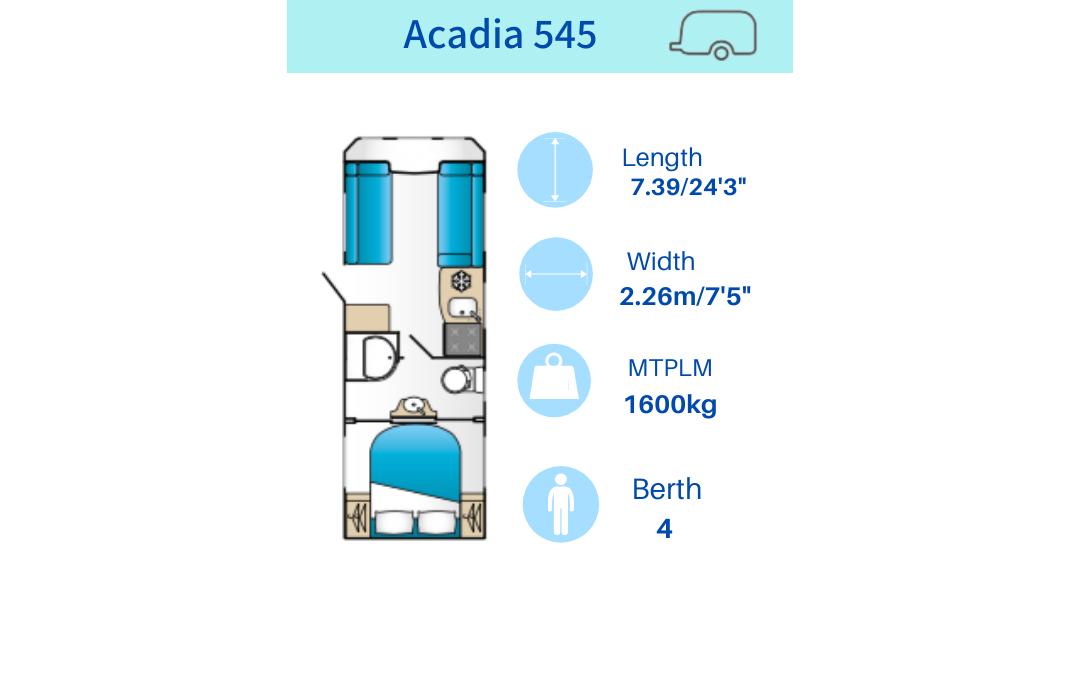 Acadia 545